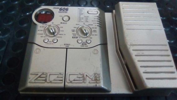 Pedaleira Zoom 606 Para Guitarra + Fonte Oferta Cod 064