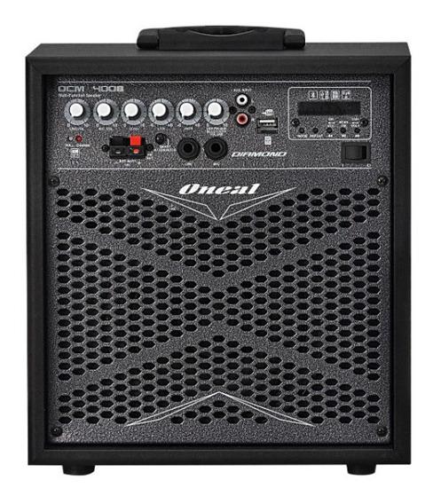 Caixa Oneal Multiuso Amp Ocm 4008 Usb/sd/fm/ Bluetooth