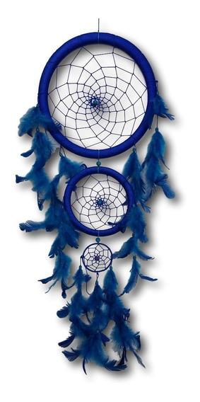 Filtro Dos Sonhos Com Penas Azul Ref: 9470
