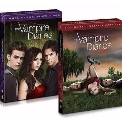 Boxes Tvd: Temporadas 01 E 02 + Colares Elena E Katherine
