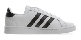 Tenis adidas Grand Court Blanco/negro F36392