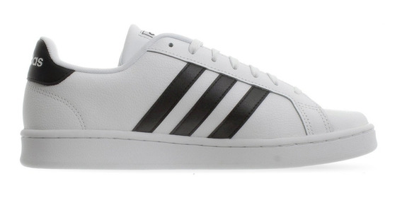 Tenis adidas Grand Court Blanco/negro F36392