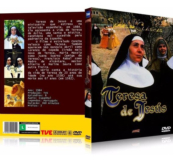 Box A Vida De Santa Teresa 1984 [8 Capítulos] 3 Dvd