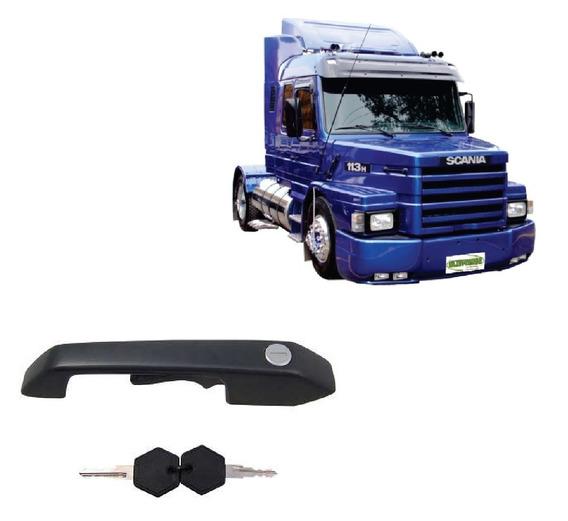 Maçaneta Com Chave Scania T R 112 113 142 143 L Motorista