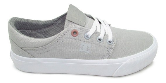 Tenis Dc Shoes Trase Tx Mx Women´s Adjs300208 Lgy Light Grey