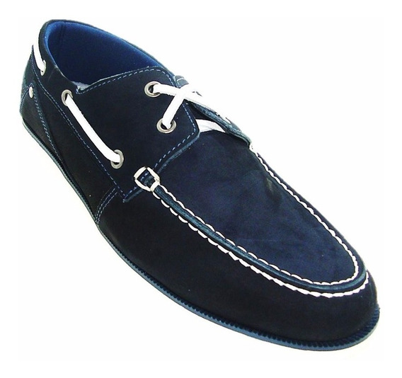 Sapatênis Docside Cotton Azul Marinho 6201 A Pronta Entrega