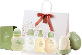 Kit Natura Mamãe Bebê + Embalagem Presente