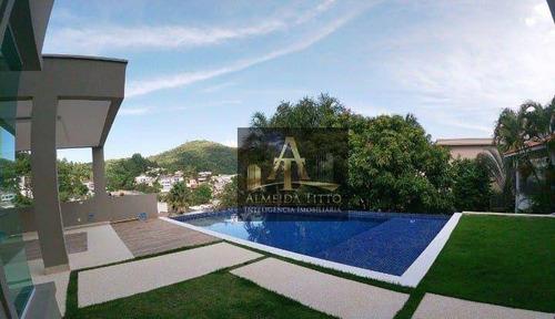 Imagem 1 de 19 de Magnifica Casa À Venda Com 724 M² De Área Construída Em Alphaville - Residencial 10 - Confira! - Ca2825