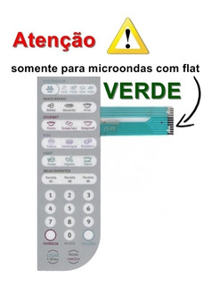 Membrana Painel Teclado Original Microondas Electrolux Mef41