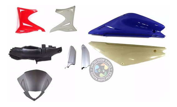 Kit Carenagens Plastico Sundown Stx 200 Motard Para Pintura