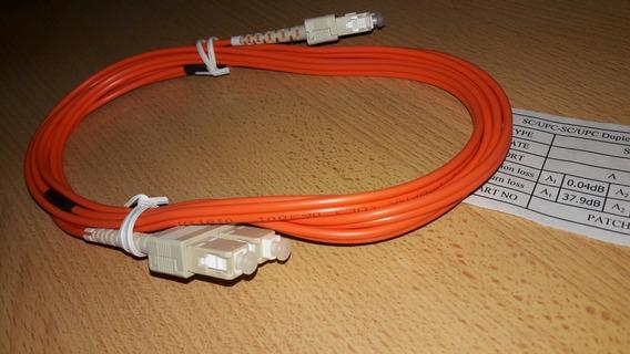 Patch Cord Fibra Optica 2mt