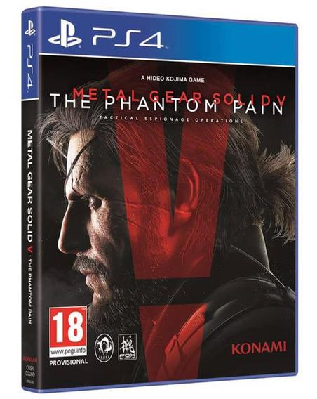 Jogo Metal Gear Solid 5 V Ps4 Midia Fisica Cd Original Novo
