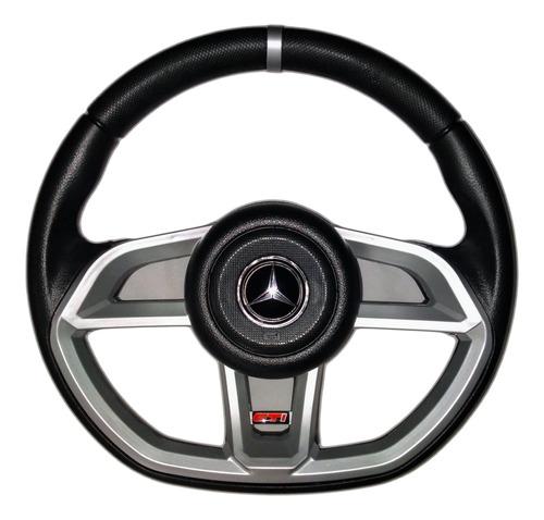 Volante Esportivo Caminhão Mercedes Gti Prata Mb 2831