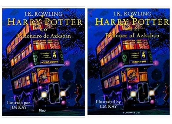 Harry Potter E O Prisioneiro De Azkaban Ilustrado