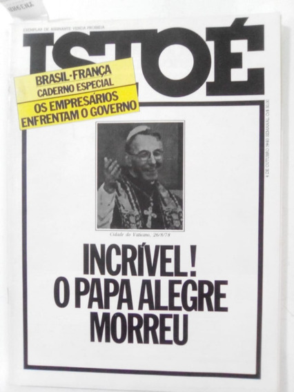 Revista Istoé 93 Papa João Paulo I Caririaçu Ditadura 1978