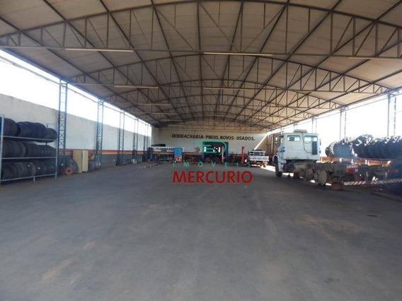 Barracão Para Alugar, 2500 M² Por R$ 8.000,00/mês - Parque São Geraldo - Bauru/sp - Ba0082