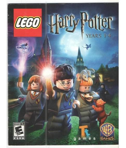 Jogo Ps3 - Lego Harry Pottes 1-4 E 5-7 - Mídia Física
