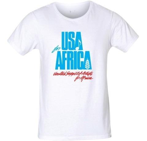 Camiseta Usa For África We Are The World Unisex Frete Grátis