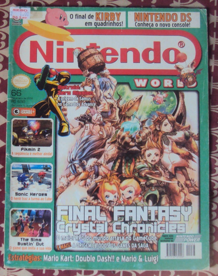 Revista Nintendo World Ed. Nº 66
