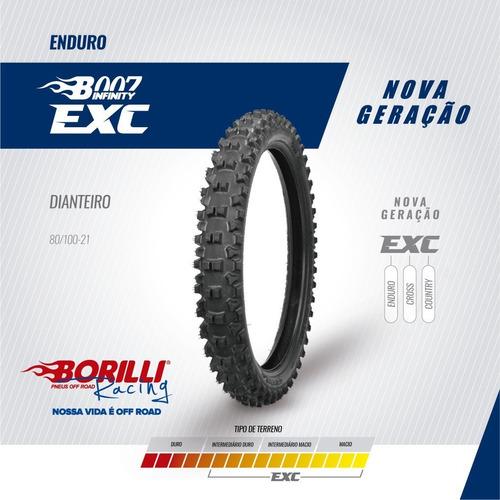 Cubierta Delantera Borilli Enduro 90/100-21 Exc-bmmotopart