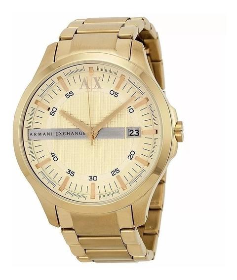 Relógio Armani Exchage Masculino Dourado Ax2131/4pn