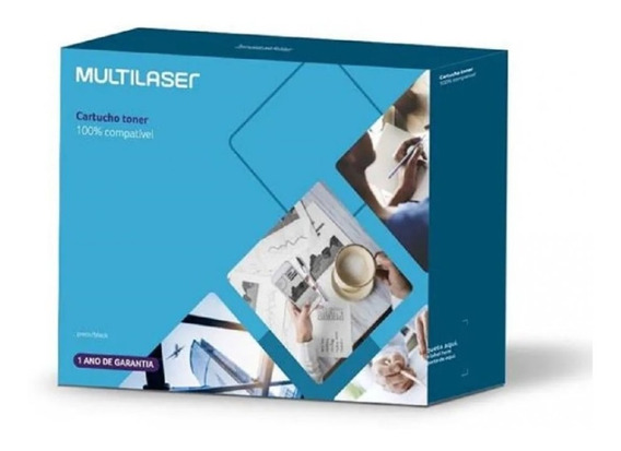 Cartucho Multilaser Toner Hp Mod.283a Print Plus Preto Ct013