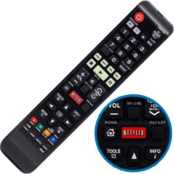 Controle Remoto Home Theater Samsung Com Função Netflix