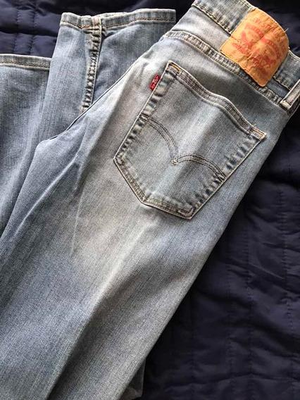 Pantalón Hombre Levis 513 Talla 31 X 32 Usado