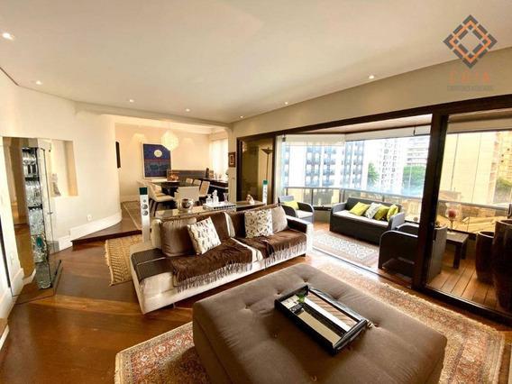 Apartamento Com 4 Dormitórios À Venda, 187 M² Por R$ 2.300.000,00 - Jardim Paulista - São Paulo/sp - Ap45964