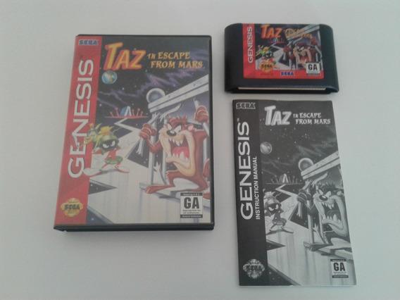 Taz Escape From Mars - Mega Drive / Genesis - Original