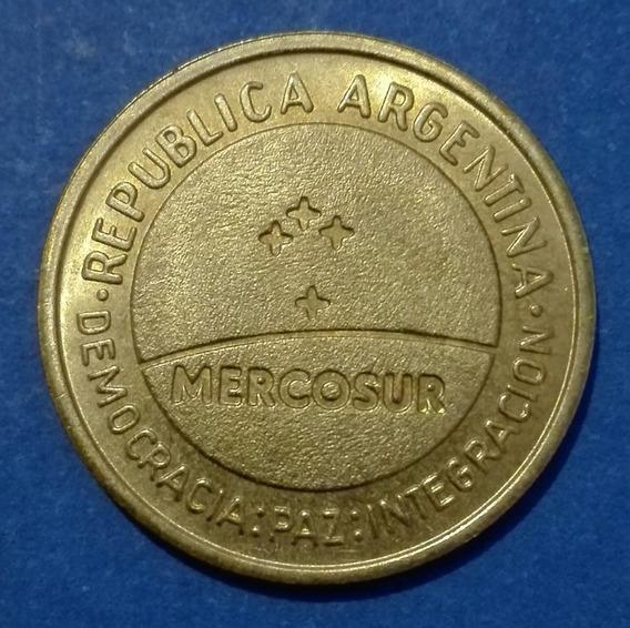 Argentina Moneda 50 Cent. Conmem. Mercosur 1998. Sin Circ.