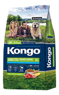 Kongo Natural Adultos Mediano Y Grande X 21 Kg