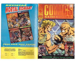 Revista Comics Generation Número 1 Frete Gratis