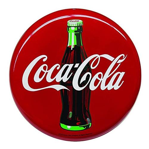 Imagen 1 de 3 de Señal De Coca Cola 16'' Ronda