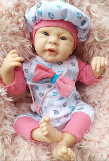 Bebés Muñeco Tipo Reborn , Nuevos Ojos Abiertos !!!!!!