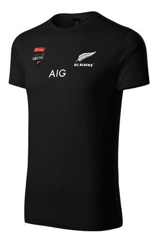 Remera Rugby All Blacks