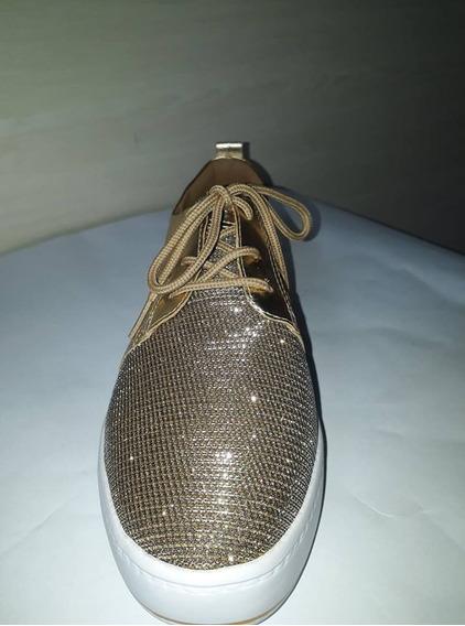 Tenis Dakota Sonic Ouro B8472