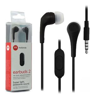 Auriculares In Ear Motorola Earbuds 2 Con Microfono Colores