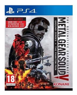 Metal Gear V Definitive Ps4 Fisico Sellado