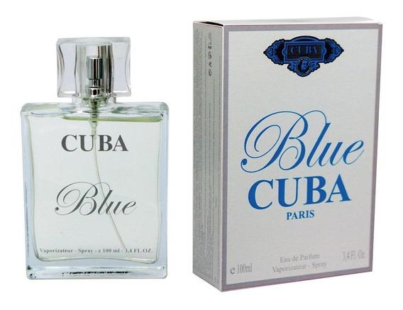 Perfume Cuba Blue Edp Masculino 100ml Original