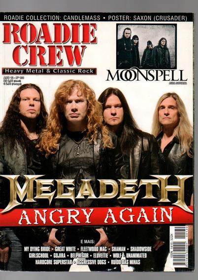 Roadie Crew Megadeth Angry Again Nº130