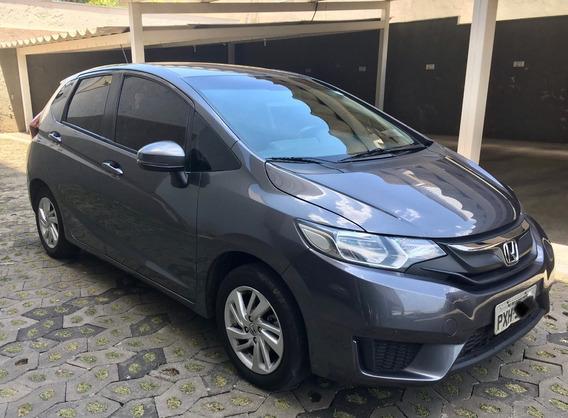 Honda Fit Lx 1.5 Manual Com Banco De Couro