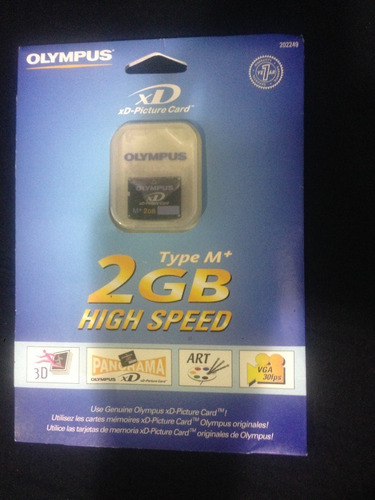 Cartão De Memória - 2gb - High Speed Olympus Xd - Original