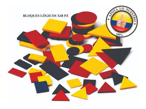 Bloques Lógicos Plásticos, Juego Matemático