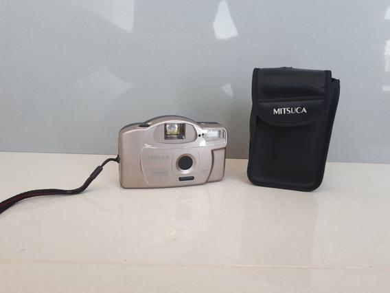 Maquina Fotográfica Mitsuca Com Capa