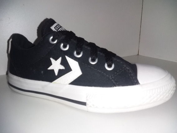 Tênis All Star Converse Preto Estrela Co055001