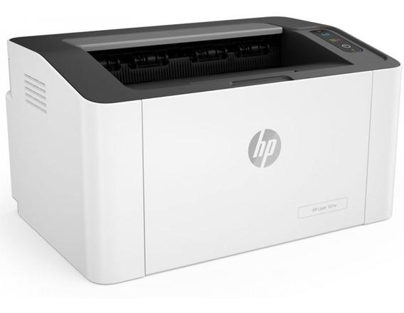Impressora Hp Laserjet Laser M107w Wifi Monocromática - 110v