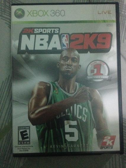 Nba 2k9 Xbox 360 Midia Fisica Original