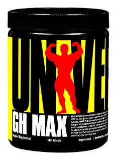 Gh Max Universal 180 Tabletas Arginina Pro Hormonal