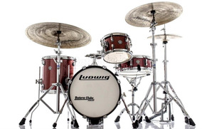 Bateria Ludwig Breakbeats By Questlove Signature Red Sparkle